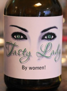 Tasty Lady is watching you!